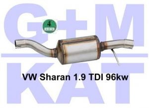 Partikelfilter VW Sharan 1.9 96kw 02.36.029