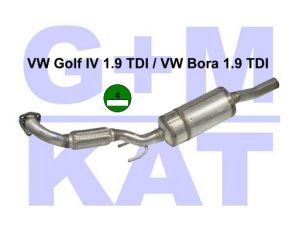 Partikelfilter VW Golf IV 1.9 TDI 02.37.002