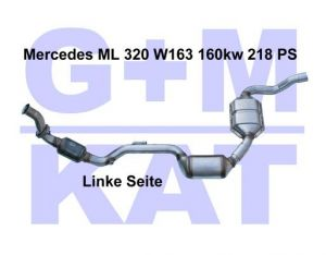 Katalysator Mercedes ML 320 W163 L GM 400234