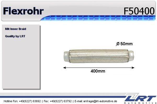 flexrohr innendurchmesser 50mm l nge 400mm lrt f50400. Black Bedroom Furniture Sets. Home Design Ideas