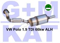 Russfilter-Kat VW Polo 19 TDI 66...