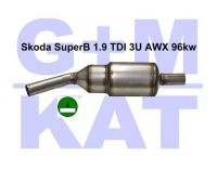 Partikelfilter Skoda Superb 1.9 ...