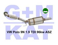 Russfilter-Kat VW Polo 9N 1.9 TD...